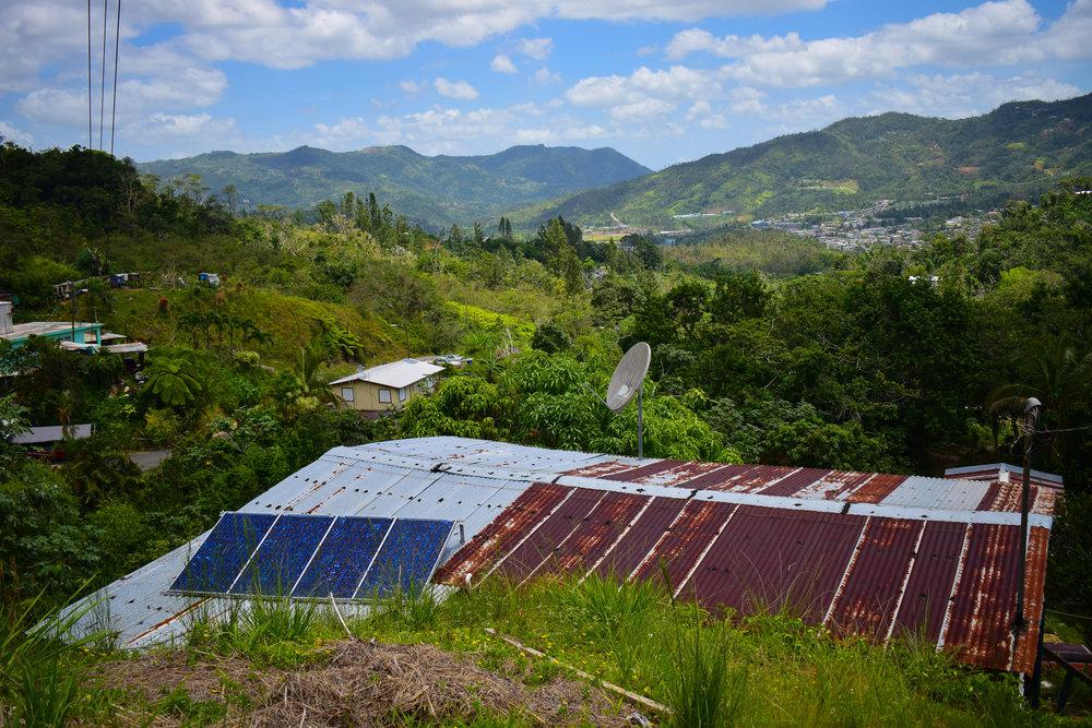 Solar in El Hoyo
