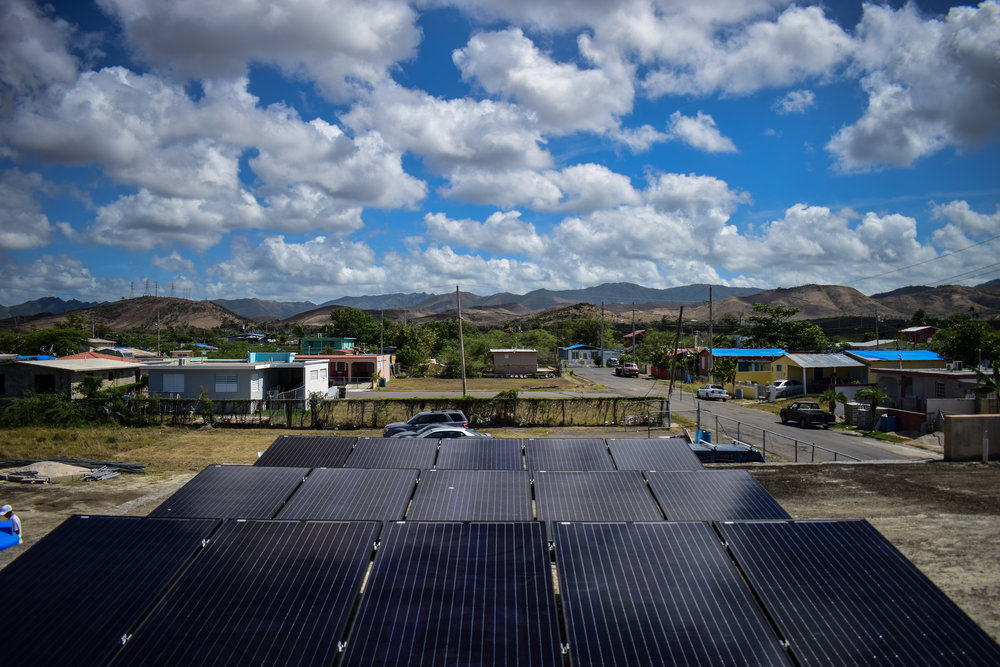 Solar in El Coquí