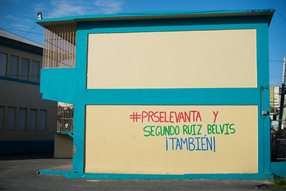 6/11/18 – Bayamón, Puerto Rico – La Escuela Segundo Ruiz Belvis in San Juan is on a list of schools to be closed before the Fall 2018 academic year. The Puerto Rican Department of Education is closing 283 schools, and moving multiple schools into the same building, citing the past year's drastic drop in enrollment as one of the primary reasons to lower the amount of schools, and instead increase the amount of students in each school. Students of special education schools are one of the groups to be most negatively affected by these closings, as the new schools may not offer the resources the students need and have access to at their current schools. (Sofie Hecht Photography)